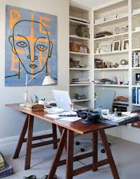 eclectic design home office. an eclectic hudson valley home design office