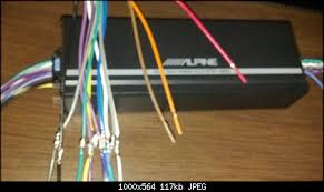alpine ktp 445 amp wiring harness color code alpine radio help wiring alpine ktp 445u jeep wrangler forum on alpine ktp 445 amp wiring harness