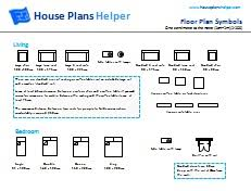 Free Floor Plan Symbols