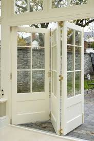 folding french doors exterior photo 1