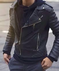 jacket black biker jacket zip streetstyle menswear
