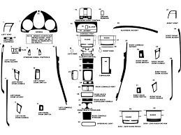 acura tl 2004 2008 dash kit diagram