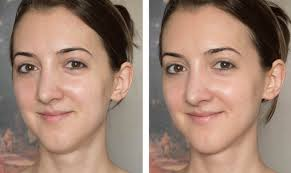 luminess air airbrush makeup system before and after