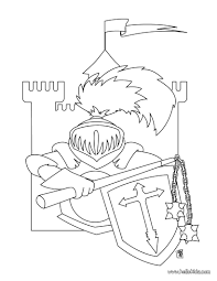 Small Picture Knight and castle coloring pages Hellokidscom