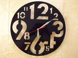 acrylic wall clock decorative wall colock