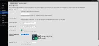 Amoritization Calculator Wp Amortization Calculator By Sh Themes Codecanyon