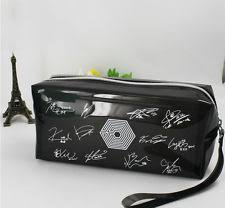 charming fan made good exo overdose pencil case makeup bag kpop dsuk