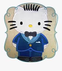 Gothic Machine Embroidery Designs Hello Kitty Father Applique Machine Embroidery Design
