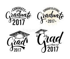 congratulations to graduate congratulations graduate 2017 stock vector illustration of