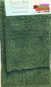attractive microfiber chenille bath rug 2 pc green microfiber chenille bath rug set 2 bath