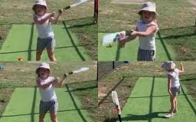 David Warner shares video of daughter Ivy Mae throwing bat after missing  the ball; trolls himself