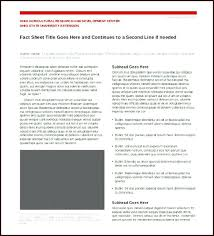 Fact Sheet Template Free Word Documents Download Publisher 7 Sheets ...