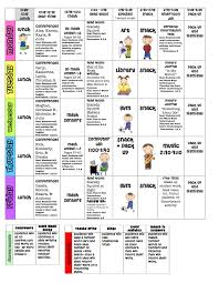 Sample Weekly Lesson Plan Awesome Bunch Ideas For First Grade Lesson Plan Template With Example