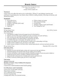 Caregiver Resume Template Beauteous Best Caregiver Resume Sample It Could Help Them To Find Their Skills