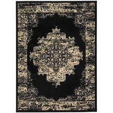 grafix black 8 ft x 10 ft area rug black blue ivory pink cream red navy blue