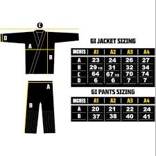 Elite Sports Size Chart The Definitive Guide To The Bjj Gi Size Chart Attack The Back