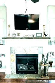 wall above fireplace ideas decor over side fireplac