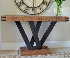 entryway table creating inviting impression at the first sight. Build A Rustic Console Table From Simple 2x4 Lumber. Free Plans And Building Tutorial. Entryway Creating Inviting Impression At The First Sight T