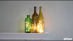 wine bottle lighting. How To Put Christmas Lights In A Wine Bottle Lighting