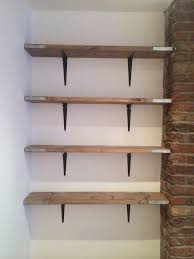 BQ Shelving Floating Cool Scaffold Board Shelving I Recently Brought Some New Scaffold Boards
