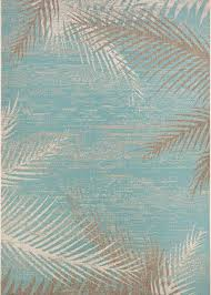 aqua area rug couristan monaco tropical palms 2429 3134 aqua area rug