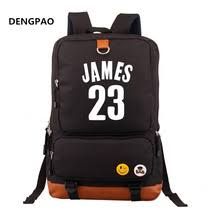 lebron bookbag. lebron james 23 printing men backpack women laptop backpacks students school bags book bag mochilas( bookbag k