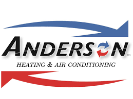 heating and air logo. (314) 808-3097. anderson heating and air conditioning logo e