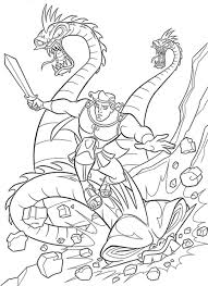 Small Picture Cartoon Coloring Pages Hercules And Monsters Cartoon Coloring