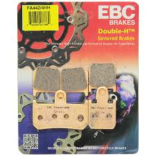 Ebc Motorcycle Brake Pads Application Chart Ebc Honda Cbr1000rr 06 19 Double H Sintered Metal Rear Brake Pads