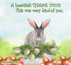 Thank You Easter Talking Easter Thank You Free Thank You Ecards Greeting