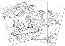 画像 37 恐竜の塗り絵無料ダウンロード印刷からオンラインぬりえ