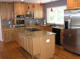 size kitchen remodel designs granite