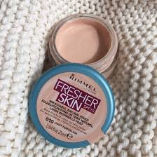 rimmel fresher skin foundation 010