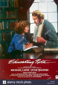 julie walters michael caine poster educating rita stock julie walters michael caine poster educating rita 1983