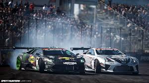 Photo Of The Day Lamborghini Murcielago And Lexus Lfa Drift Cars