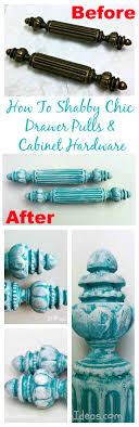 Antique Cabinet Knobs And Pulls How To Shabby Chic Antique Cabinet Hardware