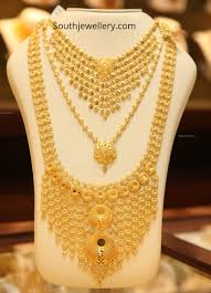 Gold Necklace And Haram Set Designs Gold Necklace And Haram Set By Malabar Gold And Diamonds