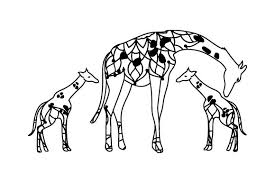 Mom And Baby Giraffes Svg Cut File By Creative Fabrica Crafts Creative Fabrica
