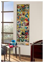 Ninja Turtle Bedroom Decor Spider Man Comic Strip Wall Decal