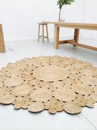 now round rugs nuloom braided natural fiber jute rug 6 free