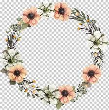 White Paper Flower Garland Wreath Floral Design Flower Garland A Garland White And Orange