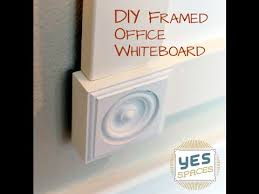how to build an office. DIY: How To Build An Office Whiteboard For Under $52 I