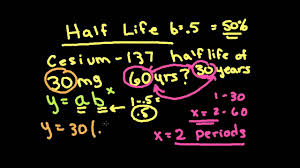 apex math exponential word problems y ab x exponential growth decay half life interest problem you