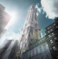 Cool real architecture buildings Guardians The Galaxy 41 West 57th St By Mark Foster Gage Architects courtesy Mfga Sites At Penn State Cool Unusual The Story Behind Mark Foster Gages Unique Tower