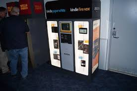 Sell Vending Machines Custom Amazon Sets Up Vending Machine To Sell Kindle Tablets And EReaders