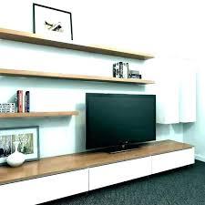 tv wall shelf diy homemade wall mount wooden wall mount under wall shelf wall mounted shelves