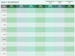 Daily Timetable Margarethaydon Com