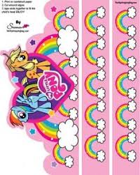 Small Picture Pin the Tail on Rainbow Dash Free Printable Pony party