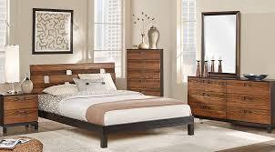 wood queen bedroom sets. Unique Wood Gardenia Honey 7 Pc Queen Platform Bedroom  Sets Light Wood On