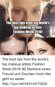 fashion makeup and best the best tips from the world s top makeup artists